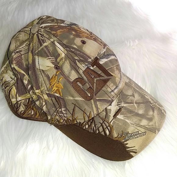 8af9d2400 Caterpillar Wildlife Camo Baseball Cap Hat